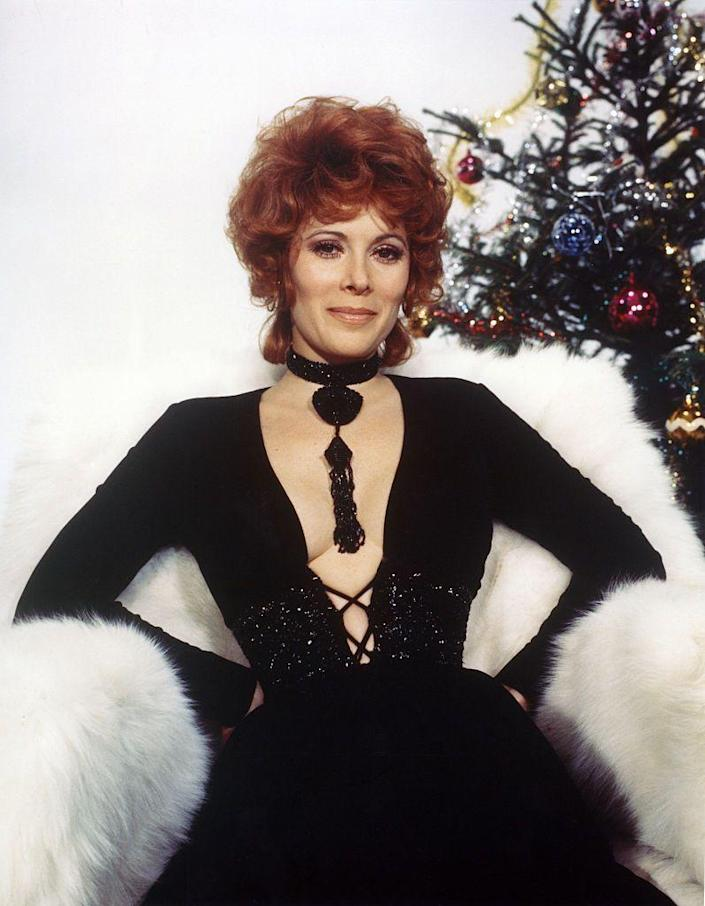 <p>While not diamonds, Jill St. John's black beaded choker and pendant in <em>Diamonds are Forever</em> provided the ultimate '70s glam look. The piece perfectly matched her plunge neck, corseted evening gown. </p>