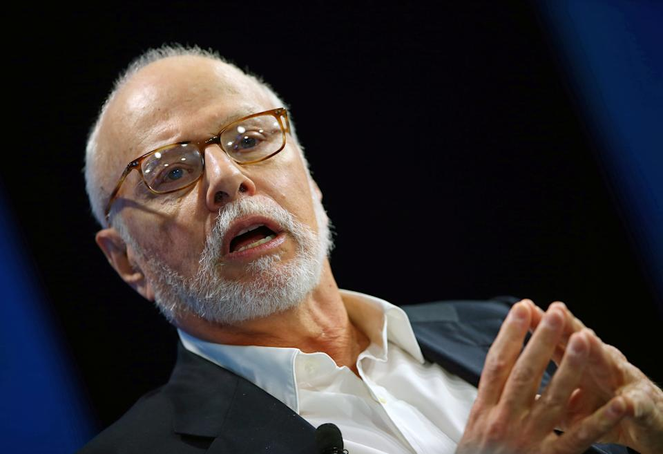 Paul Singer, founder and president of Elliott Management Corporation, speaks at WSJD Live conference in Laguna Beach, California, U.S., October 25, 2016.     REUTERS/Mike Blake
