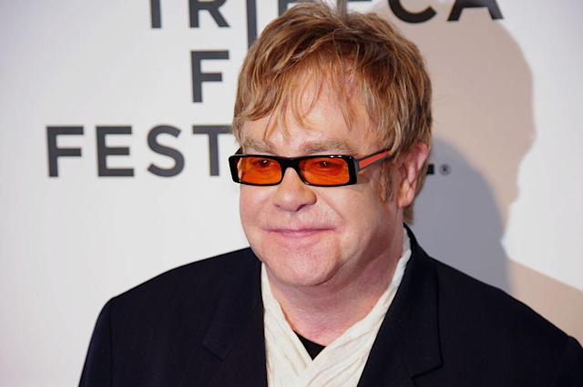 Sad music is good music for Elton.