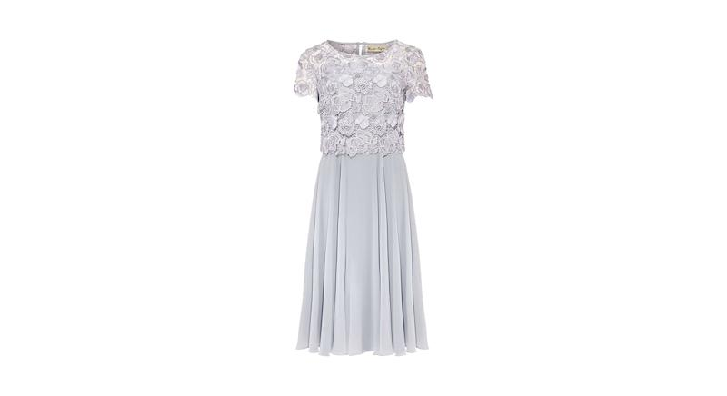 Phase Eight Brandie Lace Bodice Chiffon Dress