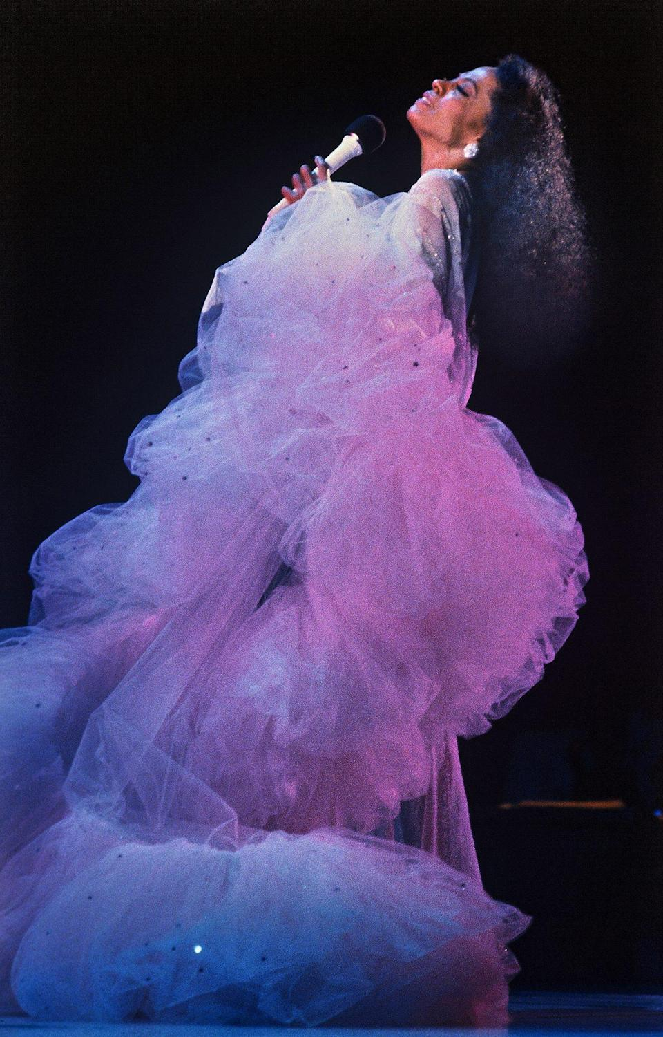 <p>A dream in tulle during a 1992 performance in The Netherlands. </p>