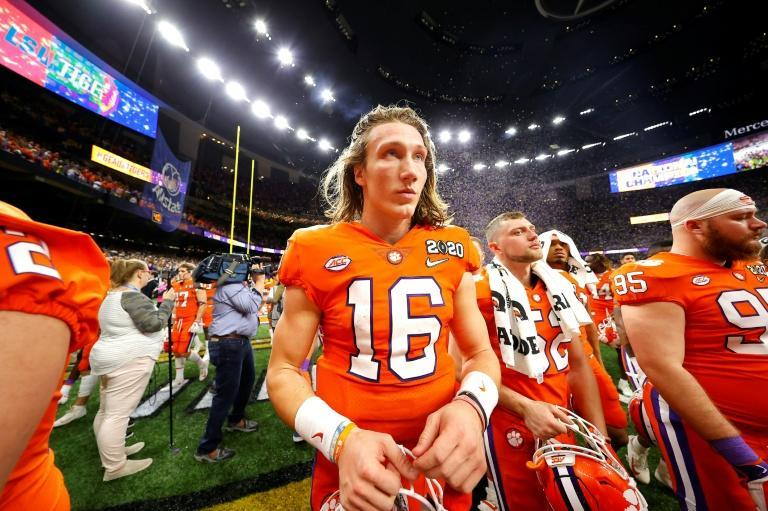College gridiron star Trevor Lawrence has tested positive for Covid-19