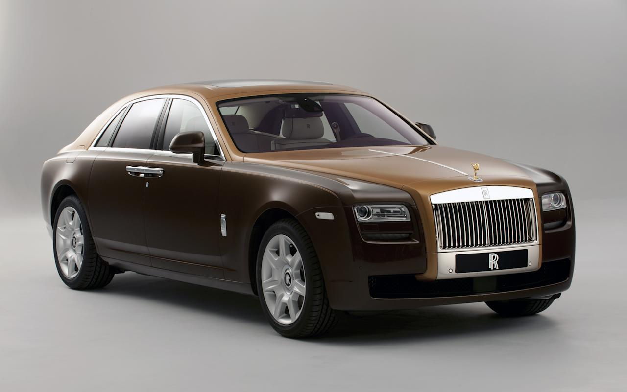 Rolls Royce two-tone Ghost
