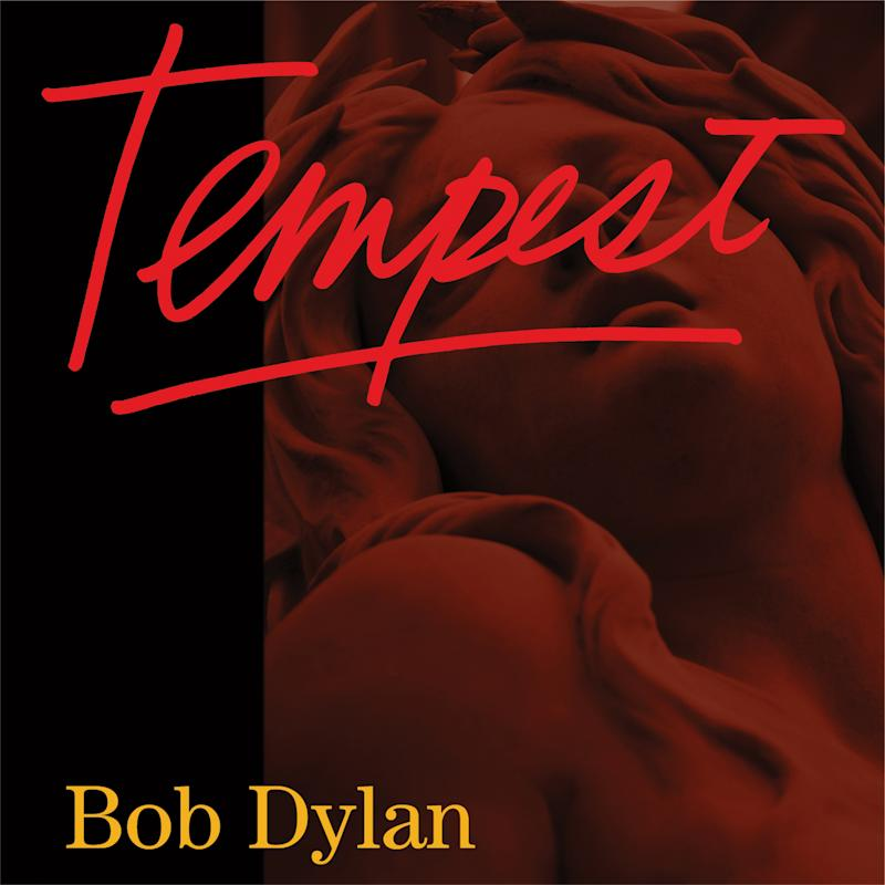 """This CD cover image released by Columbia Records shows the latest release by Bob Dylan, """"Tempest."""" (AP Photo/Columbia)"""