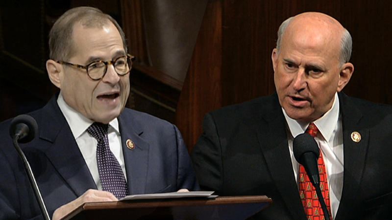 Rep, Jerrold Nadler and Rep. Louie Gohmert. (Photos: House Television via AP)