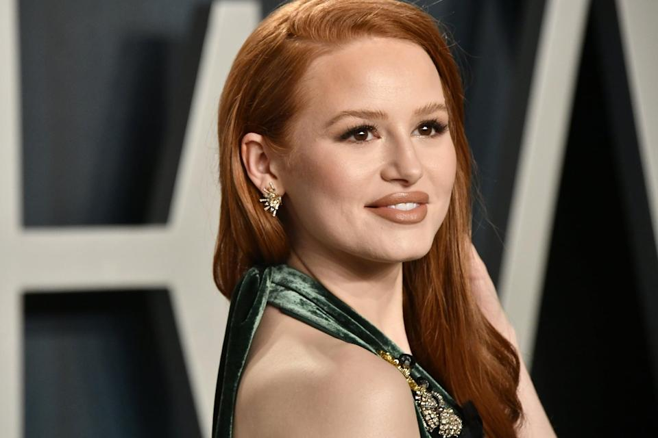 BEVERLY HILLS, CALIFORNIA - FEBRUARY 09: Madelaine Petsch attends the 2020 Vanity Fair Oscar Party hosted by Radhika Jones at Wallis Annenberg Center for the Performing Arts on February 09, 2020 in Beverly Hills, California. (Photo by Frazer Harrison/Getty Images)