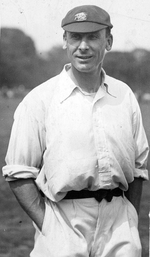 Circa 1925:  Sir Jack Hobbs, Cricket,