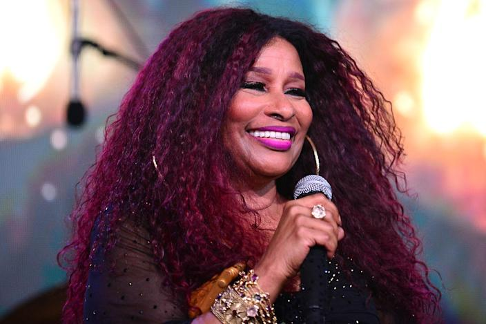 <p>Chaka Khan performed live on stage in Miami at the From Be Bop 2 Hip Hop dinner created by celebrity chefs Georgios Di Vogi of Georgios Santorini and Food Network star Jernard Wells.</p>