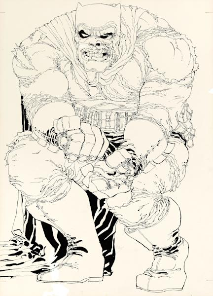 """This image provided by Heritage Auctions on July 2, 2013 shows the original art drawn by writer/artist Frank Miller for the cover to """"The Dark Knight Returns"""" No. 2, which is planned to be sold at auction in August 2013. It's the first cover from DC Comics' 1986 four-issue """"Dark Knight"""" miniseries to be sold and is expected to go for more than $500,000. (AP Photo/Heritage Auctions)"""