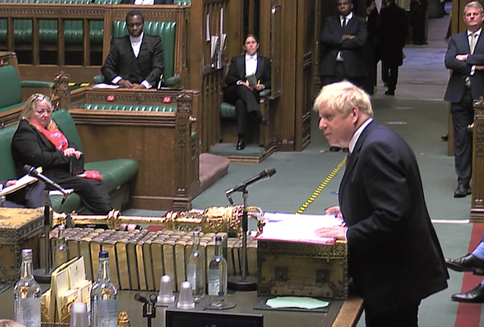 Boris Johnson said he would pay cash directly to councilsReuters TV