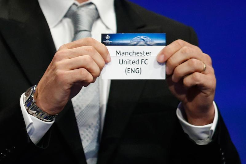 Manchester United won Group A and will be among the top seeds: Valery Hache/AFP/Getty Images