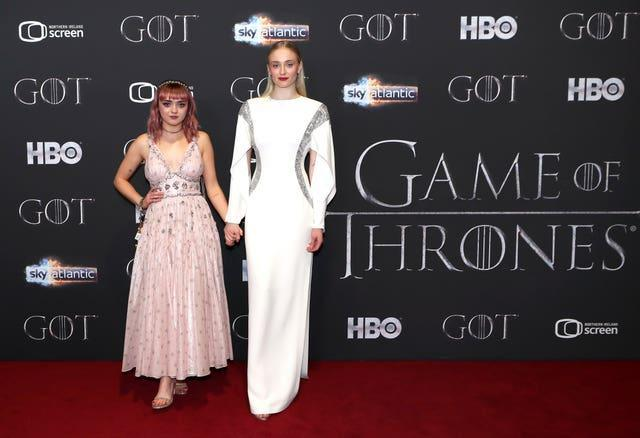 Harry Kane will be watching the likes of Maisie Williams and Sophie Turner during his time at St George's Park