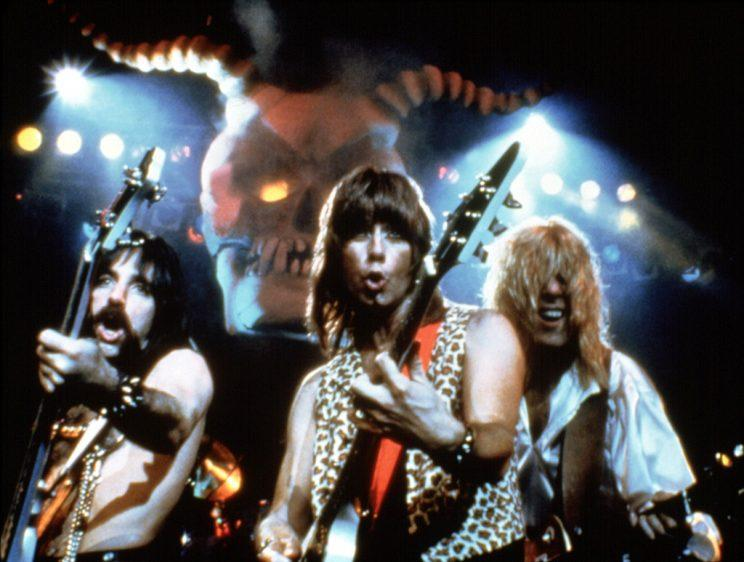 Harry Shearer, Christopher Guest, and Michael McKean in 'This Is Spinal Tap' (Photo: Everett)