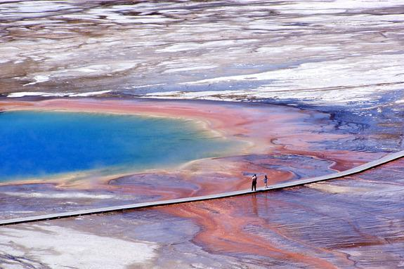 Banned Drone May Have Damaged Yellowstone Spring