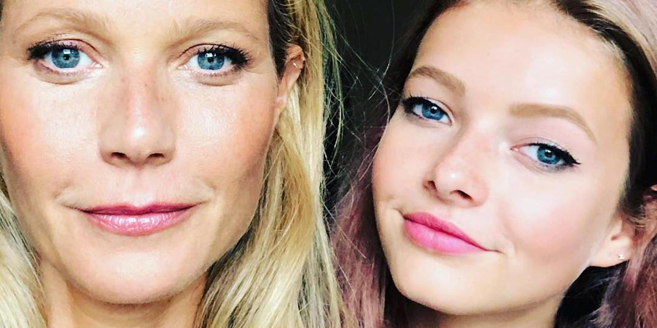 Gwyneth Paltrows Daughter Apple, 16, Hilariously Reacts