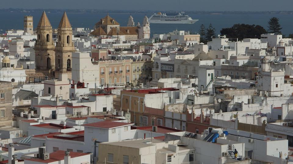 Distant dream: Cadiz in southwest Spain, expected to be on the 'amber list' of nations when travel from the UK is allowed from 17 May (Simon Calder)
