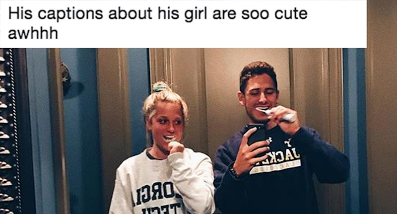 Boyfriends Instagram Captions About Girlfriend Go Viral