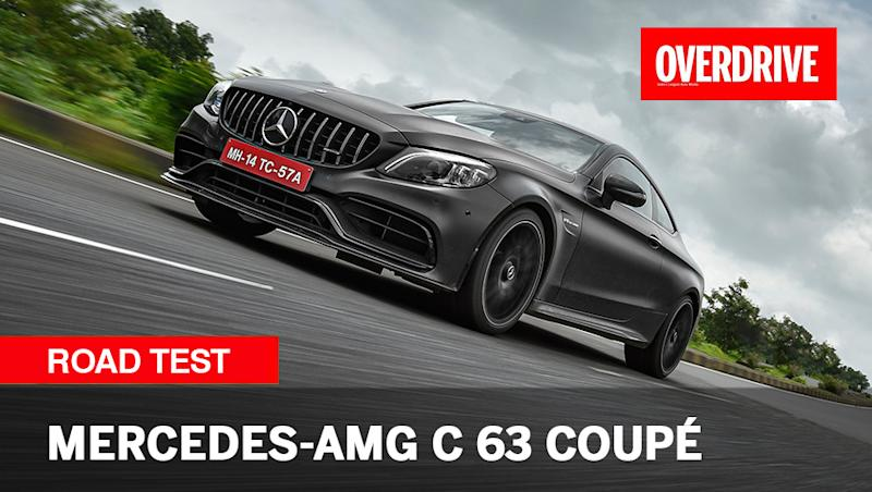 2020 Mercedes-AMG C 63 coupe - Road Test