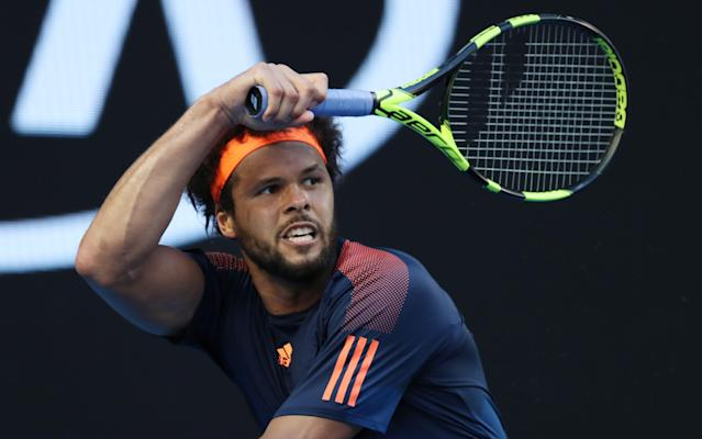 <span>France will be without Jo-Wilfried Tsonga</span> <span>Credit: REX FEATURES </span>