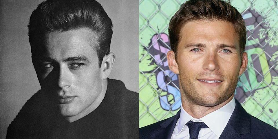 <p>Though Scott Eastwood's looks have largely been compared to those of his famous father's, Clint Eastwood, we can't help but see a resemblance between him and <em>Rebel Without a Cause </em>actor James Dean. It seems like Scott has even mastered Dean's famous eye squint. </p>