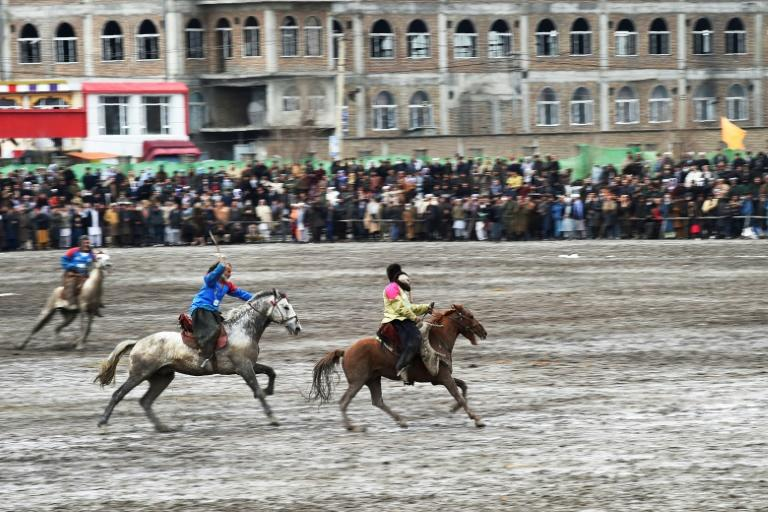 The Taliban banned buzkashi during its five years in power (AFP Photo/WAKIL KOHSAR)