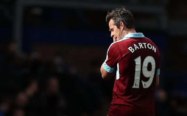 Joey Barton Burnley - PA Wire