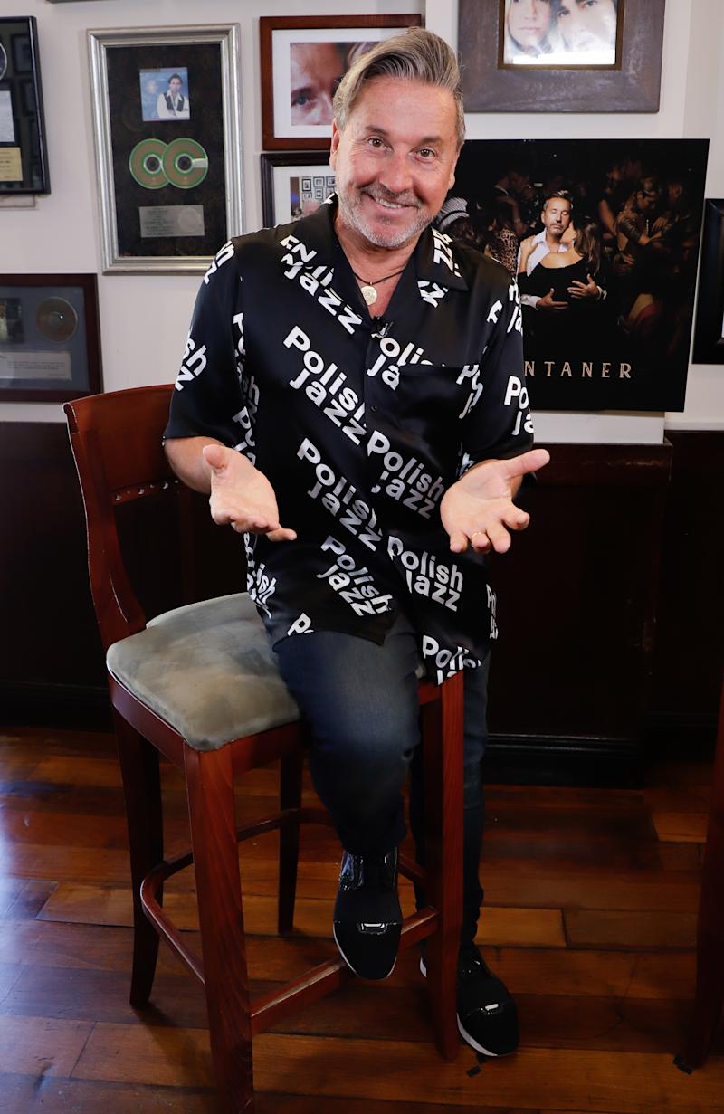 "MIAMI, FL - MAY 22: Ricardo Montaner attends a release for his new album titled ""Montaner"" at Cafe Ragazzi on May 22, 2019 in Miami, Florida. (Photo by John Parra/Getty Images)"