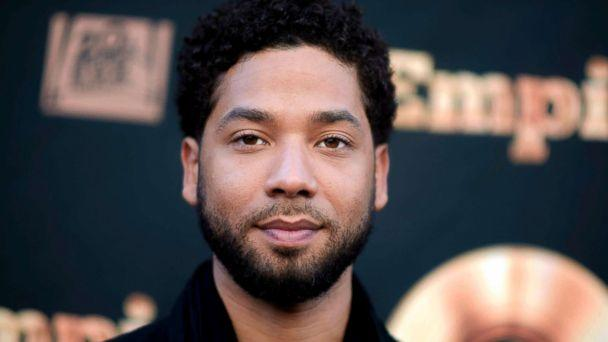 Jussie Smollett turns himself in to cops after allegedly staging hate crime