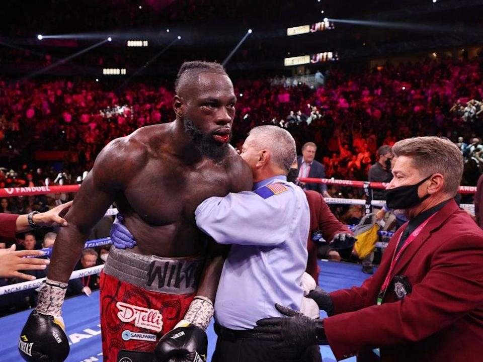 Wilder was stopped by Fury in the 11th round in Las Vegas (Getty Images)