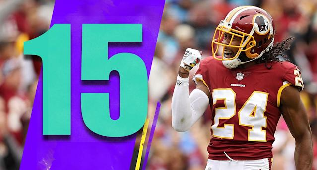 <p>Of all the teams in sole possession of first place in the NFL through six weeks, the Redskins might be the one most people couldn't name. (Josh Norman) </p>