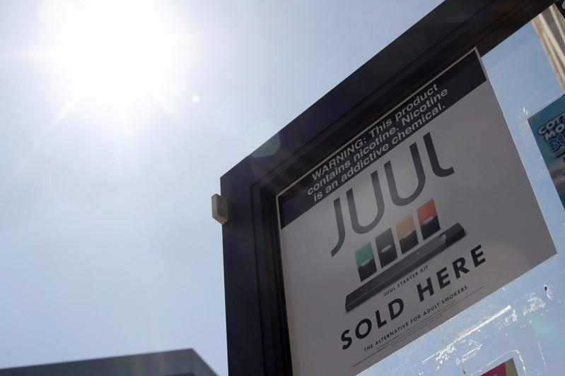 California sues e-cigarette maker Juul for selling nicotine products to youth