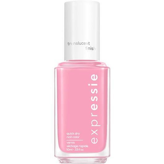 """<h3>Mall Crawler</h3><br>We can see it now: This translucent, muted <a href=""""https://www.refinery29.com/en-us/light-pink-nail-polish"""" rel=""""nofollow noopener"""" target=""""_blank"""" data-ylk=""""slk:pink"""" class=""""link rapid-noclick-resp"""">pink</a> is <em>the</em> shade you would have worn as you browsed <a href=""""https://www.refinery29.com/en-us/2019/04/229478/claires-children-ear-piercing-age-backlash-employee-quits"""" rel=""""nofollow noopener"""" target=""""_blank"""" data-ylk=""""slk:Claire's"""" class=""""link rapid-noclick-resp"""">Claire's</a> with your friends and thought rhinestones were the height of fashion.<br><br><strong>Essie</strong> Essie Expressie Quick-Dry Nail Polish Dial It Up, $, available at <a href=""""https://go.skimresources.com/?id=30283X879131&url=https%3A%2F%2Fwww.ulta.com%2Fexpressie-quick-dry-nail-polish-dial-it-up-collection%3FproductId%3Dpimprod2021041"""" rel=""""nofollow noopener"""" target=""""_blank"""" data-ylk=""""slk:Ulta Beauty"""" class=""""link rapid-noclick-resp"""">Ulta Beauty</a>"""