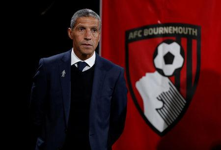 Soccer Football - Premier League - AFC Bournemouth vs Brighton & Hove Albion- Vitality Stadium, Bournemouth, Britain - September 15, 2017   Brighton manager Chris Hughton    Action Images via Reuters/John Sibley