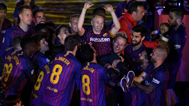 Andres Iniesta played his last match for Barcelona on Sunday and Ivan Rakitic thinks his imminent departure has already affected the club.