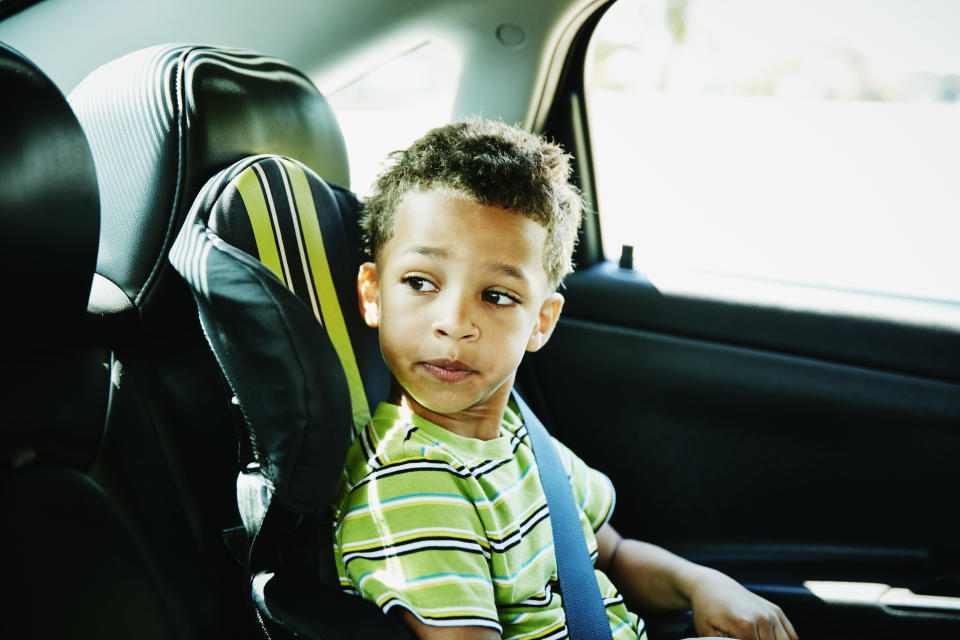 Over half of child heat-stroke deaths happen when a youngster is forgotten or left alone in a car. (Photo: Getty Images/Thomas Barwick).