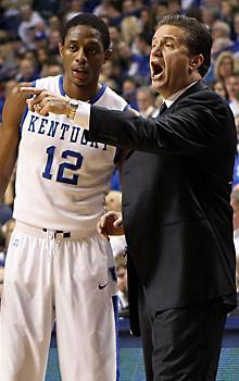John Calipari has another Kentucky team loaded with stars like Brandon Knight