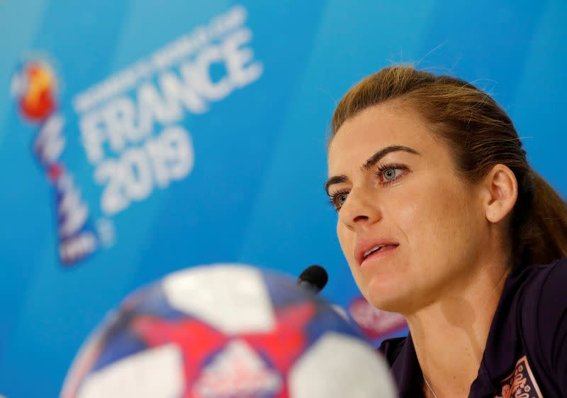 FILE PHOTO: Women's World Cup - England Press Conference