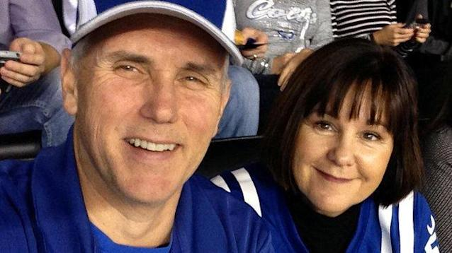 Watchdog group Citizens For Ethics is less than pleased with Vice President Mike Pence for using government travel to attend and prematurely leave Sunday's Indianapolis Colts game.