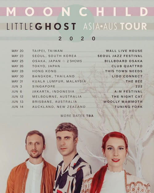 More dates will be announced soon!