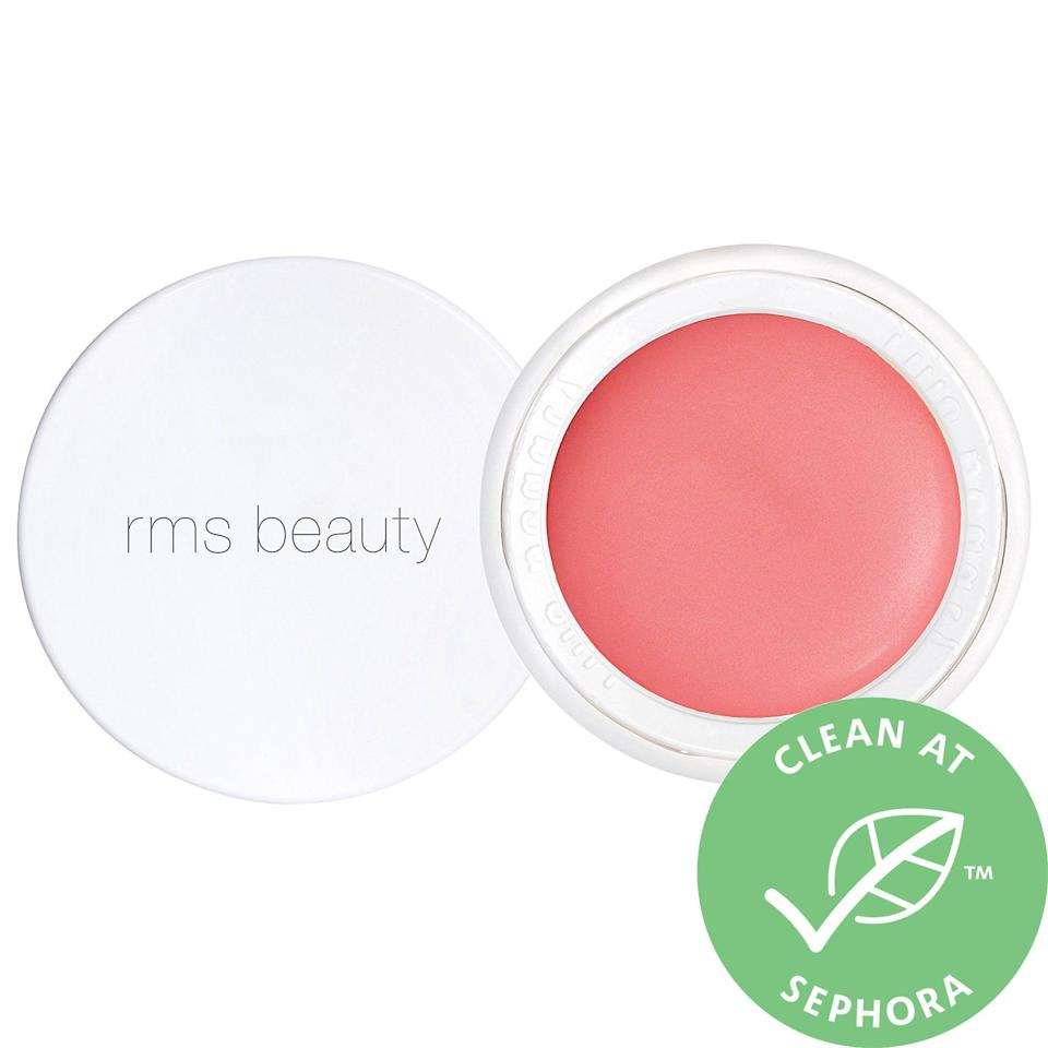 "<p><strong>rms beauty</strong></p><p>sephora.com</p><p><strong>$36.00</strong></p><p><a href=""https://go.redirectingat.com?id=74968X1596630&url=https%3A%2F%2Fwww.sephora.com%2Fproduct%2Flip2cheek-P415647&sref=https%3A%2F%2Fwww.womenshealthmag.com%2Fbeauty%2Fg34978077%2Fbest-blush%2F"" rel=""nofollow noopener"" target=""_blank"" data-ylk=""slk:Shop Now"" class=""link rapid-noclick-resp"">Shop Now</a></p><p>Formulas that double as lip and cheek tints are very much *in* right now, and if you like them, you're going to love this one from RMS beauty. It includes ingredients like cocoa seed butter, shea butter, as well as other hydrating oils that will keep your skin looking plump and dewy all day long. </p>"