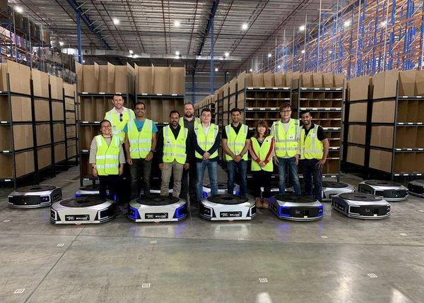 Bolloré Logistics has appointed Cohesio Group to implement an Autonomous Mobile Robot (AMR) project, making it the first ever AMR implementation by a 3PL in Australia.