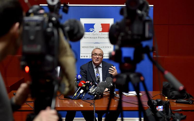 "Pierre Sennes, the Nantes prosecutor, said detectives had been led on a ""morbid treasure hunt"" - AFP or licensors"