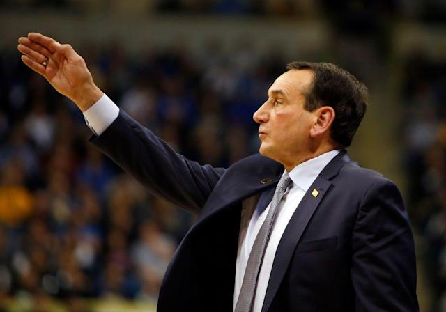 Coach K is 71 years old.