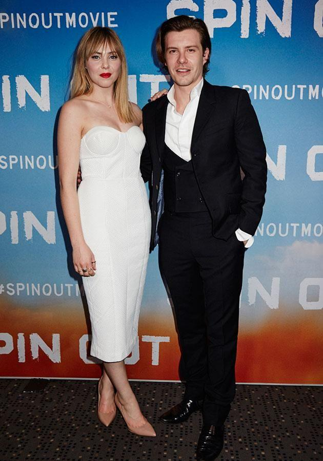 Morgan and Xavier at a special Sydney screening for Spin-Out. Source: Supplied