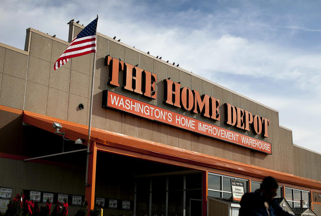 Home Depot earnings will be a major highlight on Tuesday.