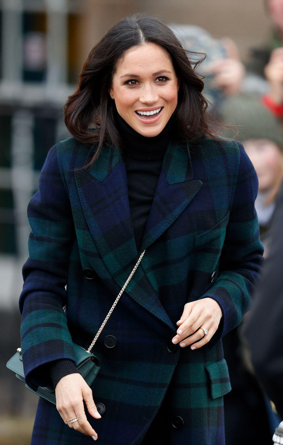 """<p>This might be an obvious one, but Meghan and Eugenie have reportedly become quite close since moving <a rel=""""nofollow noopener"""" href=""""https://www.townandcountrymag.com/society/tradition/a20111164/princess-eugenie-ivy-cottage-kensington-palace/"""" target=""""_blank"""" data-ylk=""""slk:next door"""" class=""""link rapid-noclick-resp"""">next door</a> to each other. It's safe to assume that she'll be at the celebration alongside her husband Prince Harry.</p>"""