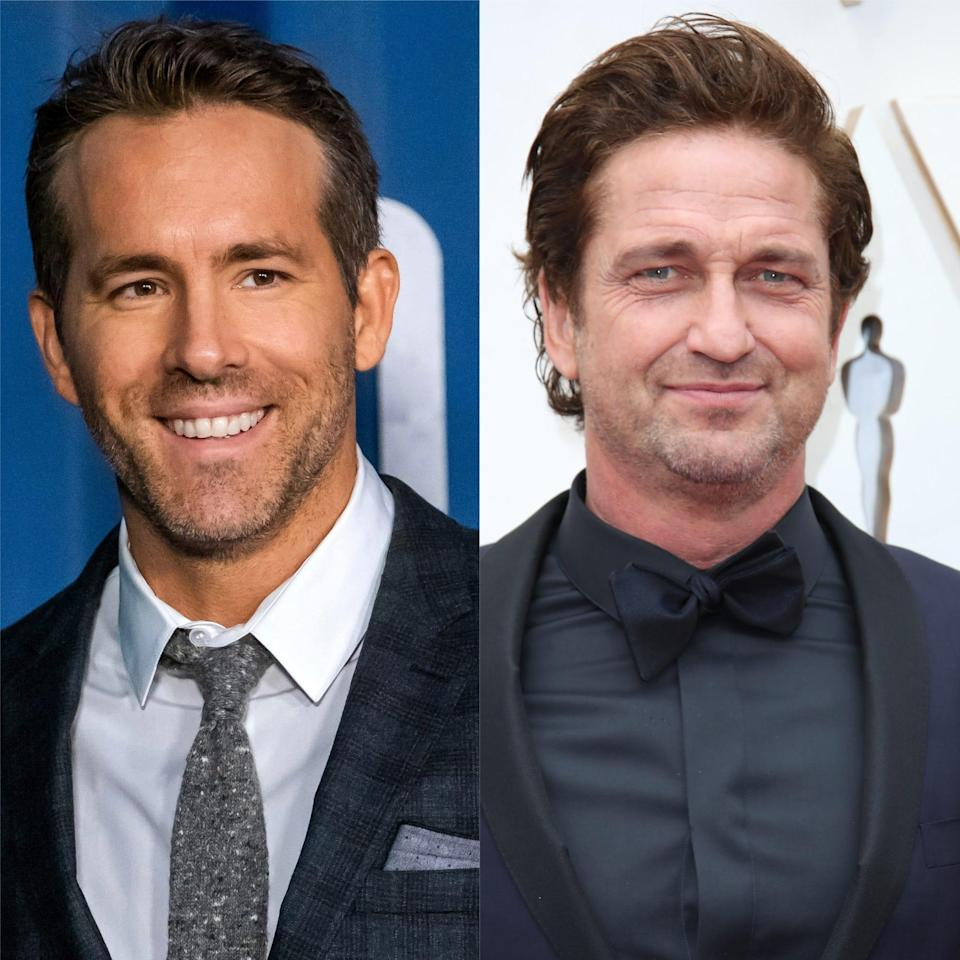 Ryan Reynolds took to Instagram on Tuesday to weigh in onGerard Butler revealingin a recentinterview with that he doesn't watch Reynolds' films.