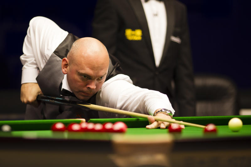 Former world champion Stuart Bingham feels he isn't getting the rub of the green at the latter stages of tournaments this season.