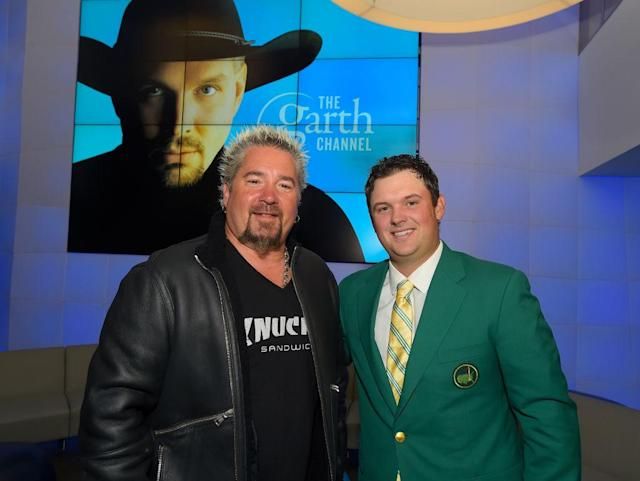 Patrick Reed and Guy Fieri.