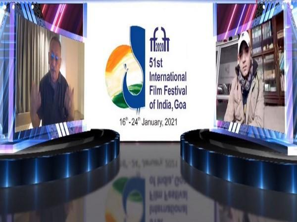 Film-maker John Mathew Matthan at 51st International Film Festival of India (IFFI)